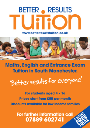 Better Results Tuition A5 Flyer